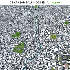 3D Denpasar Bali Indonesia