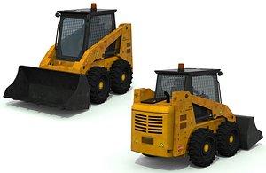 bulldozer truck 3D