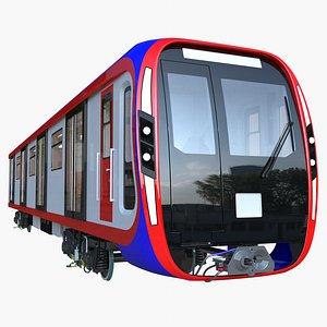 moscow metro train 2020 model