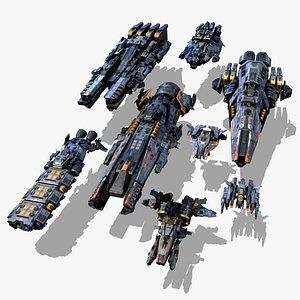 pack pbr 3D model