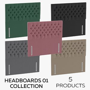 3D Headboards 01 Collection