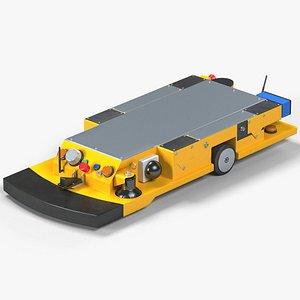 smart transport robot 3D model