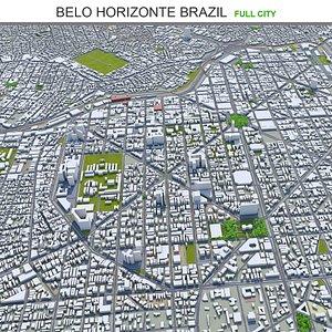Belo Horizonte Brazil 3D model