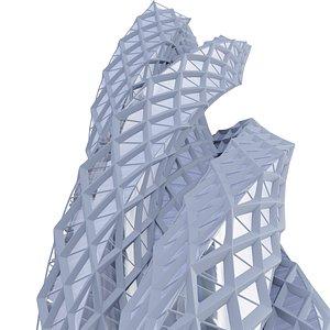 3D city architecture model