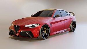 Alfa Romeo Giulia GTAm 3D model