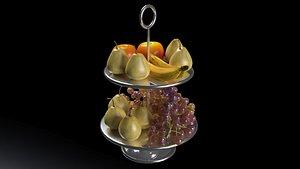 3D Fruit Basket