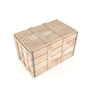 crate animal 3D model