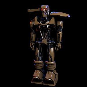 3D model warriors war