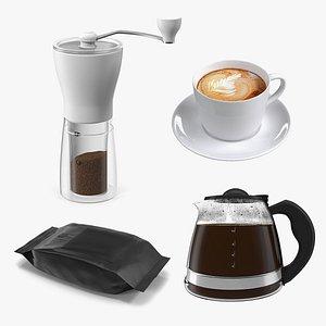 2 coffee 3D