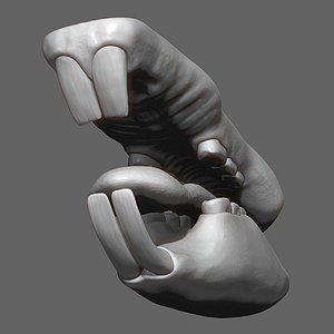 3D Rat Mouth ZBrush Sculpt