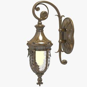 Vintage Lantern 3D model