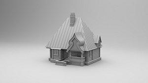 house small izba model