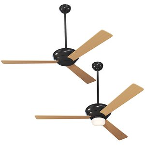 Altus Standard Ceiling Fan 3D model