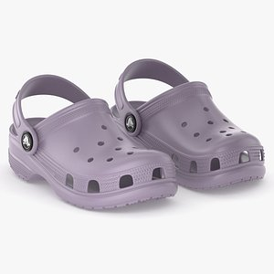 clog classic crocs 3D model