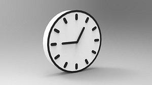 Clock Tempo 3D