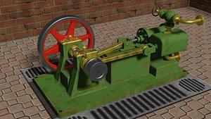 3D Stuart Steam Engine model