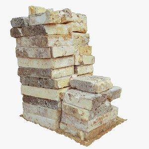 limestone stone 3D model