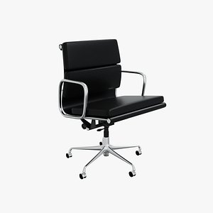 Eames Soft Pad Management Chair 3D model