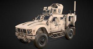 3D Military car