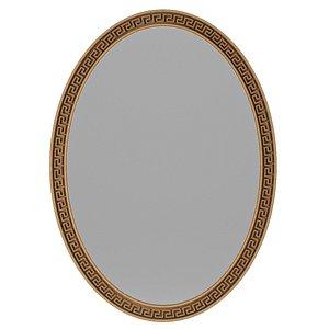 3D Mirror Versace model