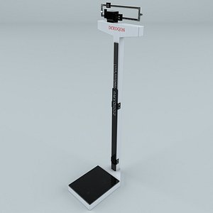 3D mechanical physician scale model