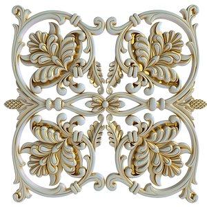 Decorative element 9 3D
