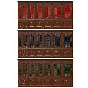3D Wood panels 22