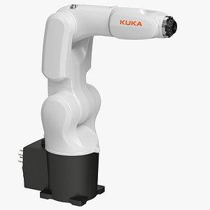 Kuka KR 4 Agilus Industrial Robot 3D model
