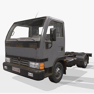 3D truck light chassis
