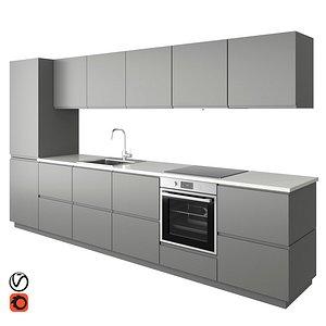 3D kitchen voxtorp
