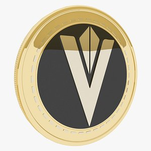 3D Content Value Network Cryptocurrency Gold Coin