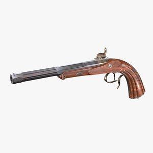3D Le Page pistol