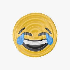 3D Tears Emoji Pool Float