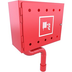 3D cabinet cabin emergency model