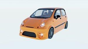 3D Daewoo Matiz Sport Type