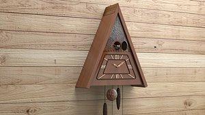 cuckoo clock mayak 3D