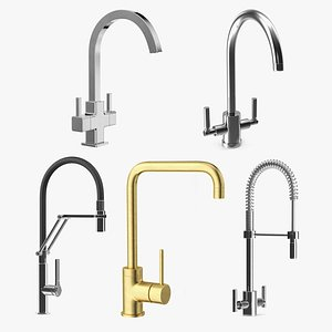 Kitchen Taps Collection 3 model