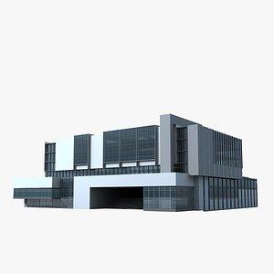 3D model Modern Building 130