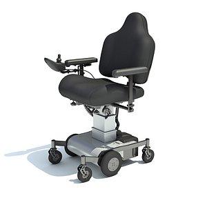 Electric Wheelchair 3D
