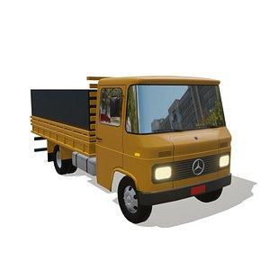 3D model caminhão 608