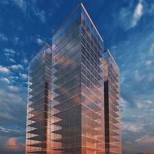 3D model office buildings