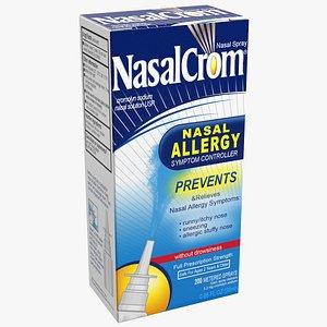 allergy symptom controller box 3D model