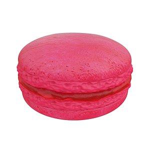 3D model macaroon pink