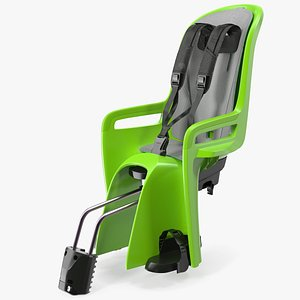 child bike seat rigged model