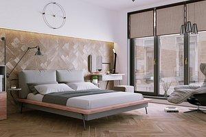 interior corona project 3D