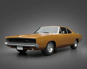 1968 Dodge Charger model