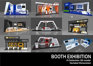3D model Booth Exhibition