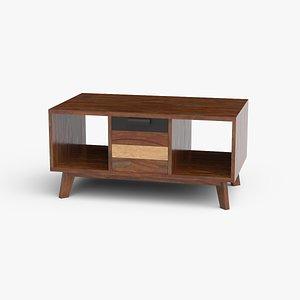 3D model coffee-table wood
