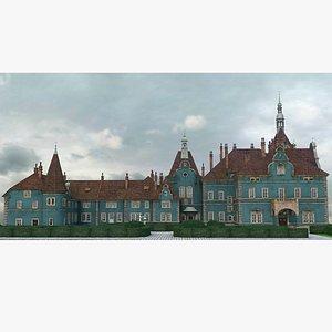 Shemborn Castle 3D model