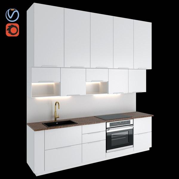 3d Kitchen Kungsbacka Turbosquid 1706888